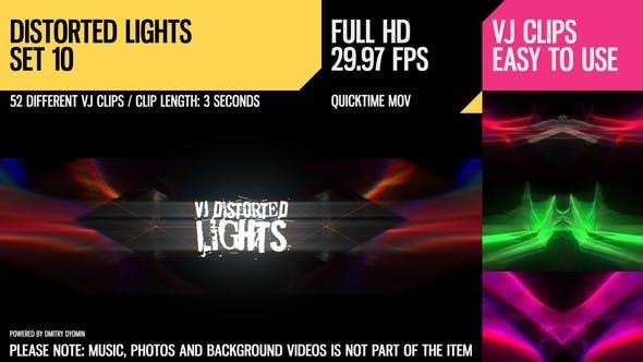 Thumbnail for VJ Distorted Lights (Set 10)