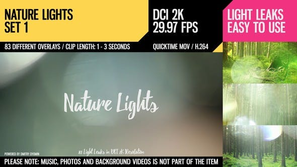 Cover Image for Nature Lights (HD Set 1)