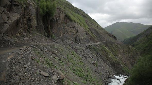 Thumbnail for Caucasus Mountains River Caucasian Beauty Nature Georgia Animals Waterwall