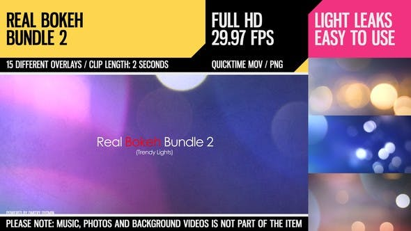 Thumbnail for Real Bokeh Bundle 2 (Trendy Lights)