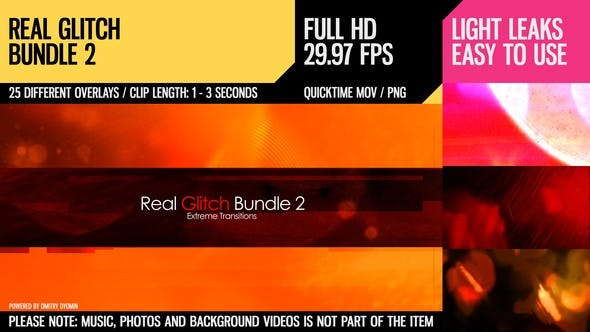 Thumbnail for Real Glitch Bundle 2 (Extreme Transitions)