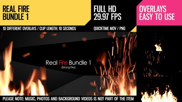 Thumbnail for Real Fire Bundle 1