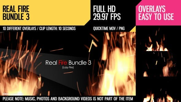 Thumbnail for Real Fire Bundle 3