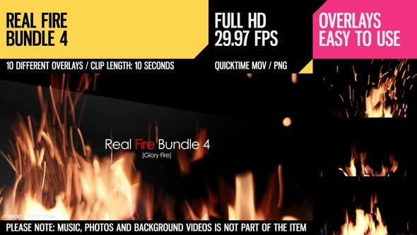 Thumbnail for Real Fire Bundle 4