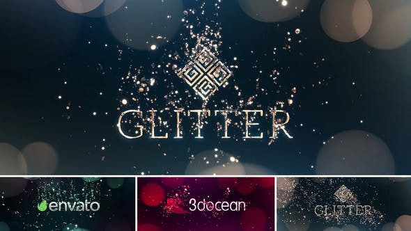 Thumbnail for Glitter Particles | Logo Reveal Pack
