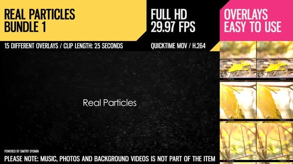 Thumbnail for Real Particles Bundle 1 (Soft Particles)