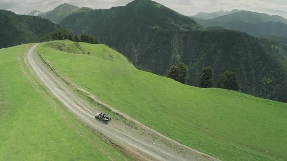 Thumbnail for Enduro Journey with Buggy Car High in the Caucasian High Mountains