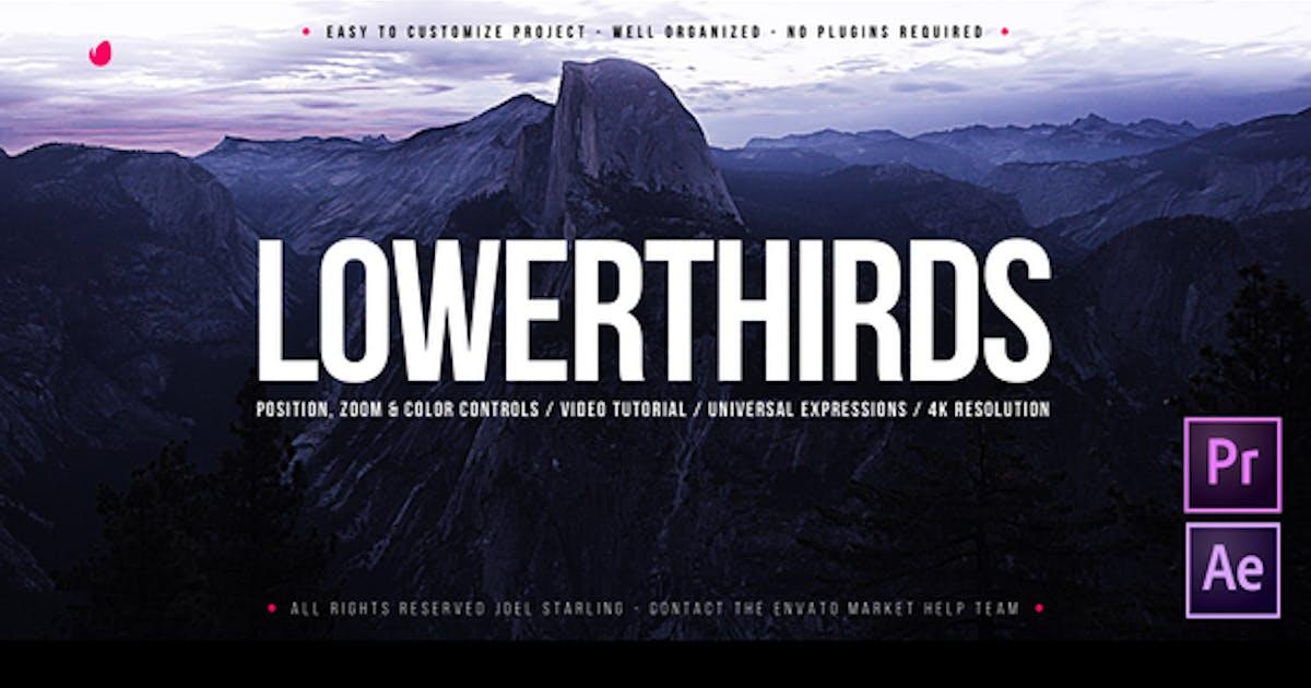 Lower Thirds by JoelStarling