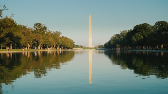 Thumbnail for Washington Monument with Reflection in Water