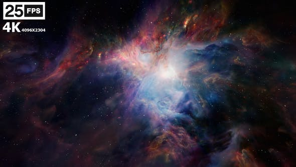 Thumbnail for Flying In Orion Nebula 4K