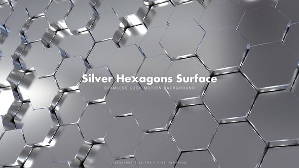 Cover Image for Silver Hexagons Surface 2