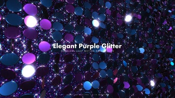 Thumbnail for Elegant Purple Glitter 17