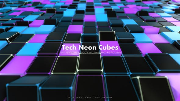 Thumbnail for Tech Neon Cubes 2