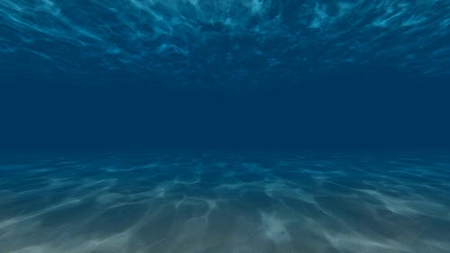 Floating Under Water