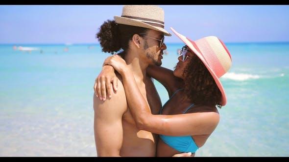 Thumbnail for Couple Bonding at Seaside