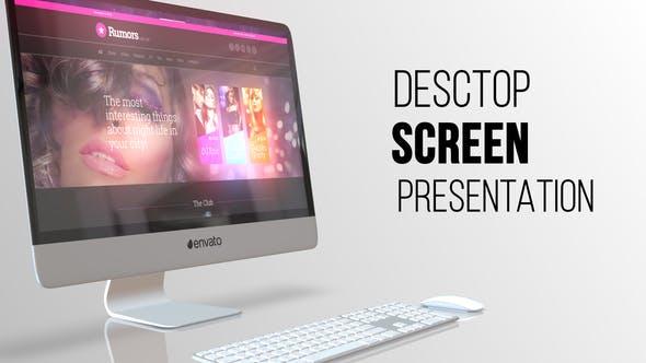 Thumbnail for Presentación de pantalla de escritorio