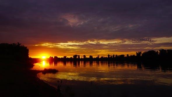 Thumbnail for River Sunset Landscape, ,