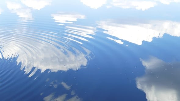 Thumbnail for Circles Flow Along Surface of Water