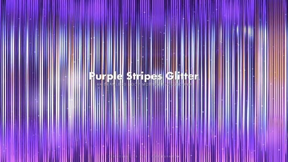 Thumbnail for Purple Stripes Glitter 12