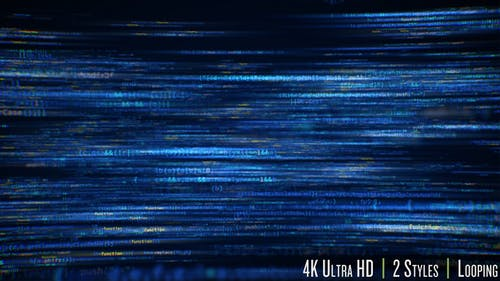 Computer Programming Software Code Background 4K