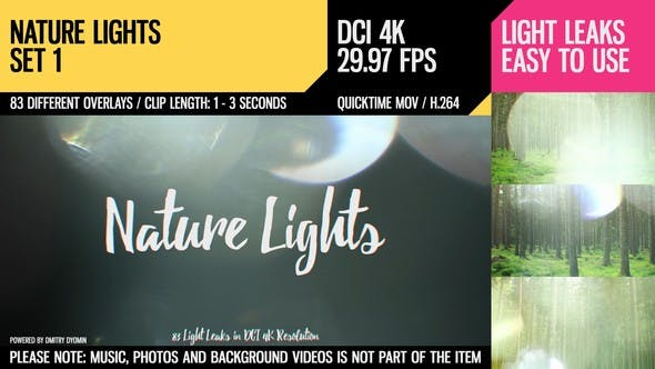 Thumbnail for Nature Lights (4K Set 1)