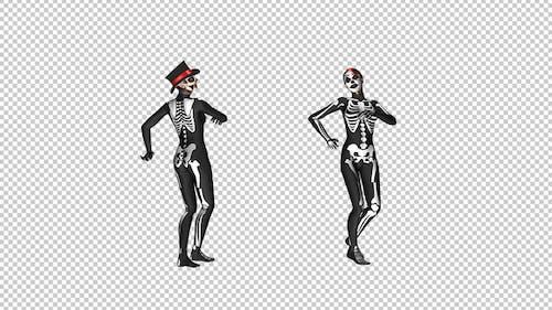 Squelette Danse - Creepy et Sexy Duo