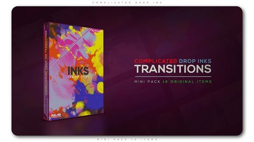 Complicated Drop Ink Transition Pack
