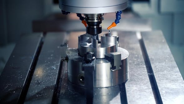Thumbnail for Metalworking CNC Milling Machine