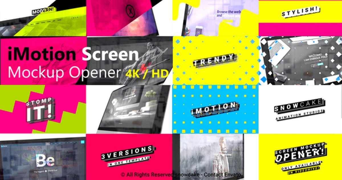 Download Stomp Screen Mockup Opener by snowcake
