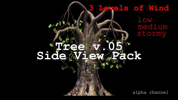 Thumbnail for Tree v. 05 Side View Pack