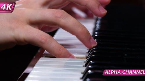 Jazz Melodien am Klavier