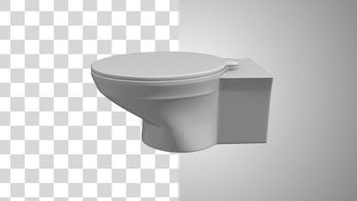 Toilet Rotating
