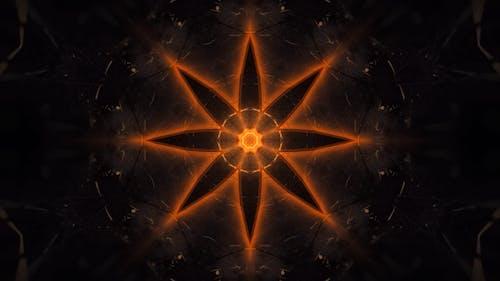 Flamed Lotus Mandala VJ Loop