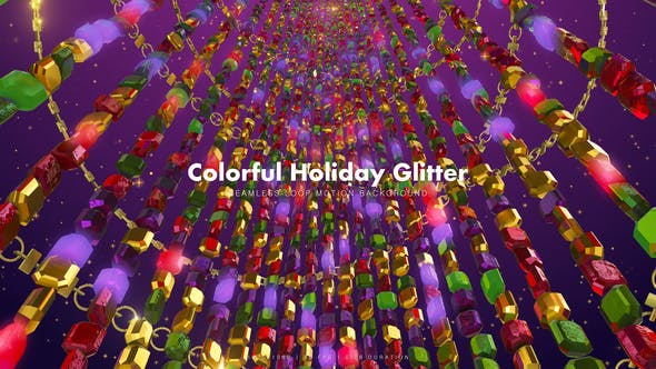 Thumbnail for Colorful Holiday Glitter 10