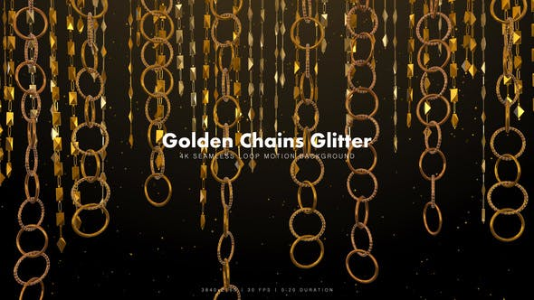 Thumbnail for Golden Chains Glitter 7