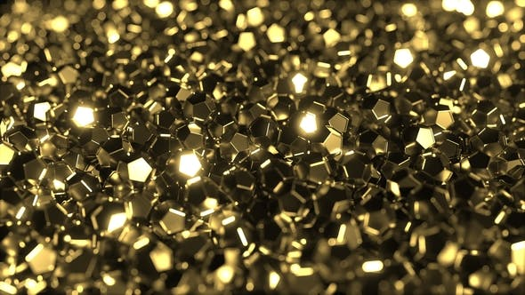Thumbnail for Pile of Shiny Golden Crystals