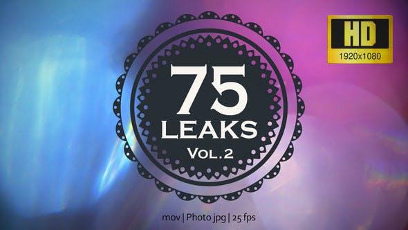 75 Real Light Leaks and Bokeh - Pack 2