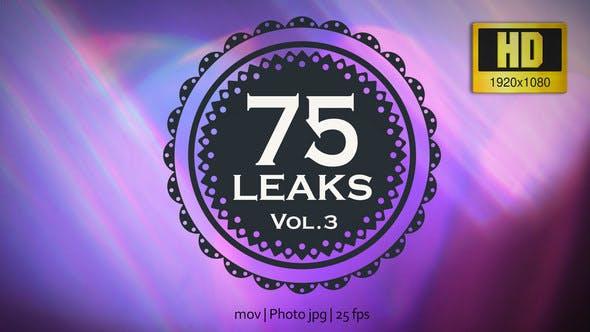 75 Real Light Leaks and Bokeh - Pack 3