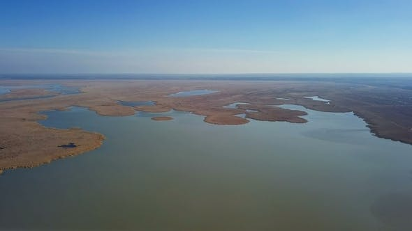 Thumbnail for Lake Neusiedl and Ferto-Hansag National Park Aerial