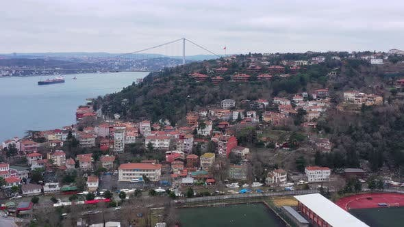 Thumbnail for Istanbul Bosphorus Aerial View