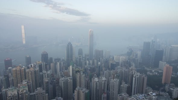 Thumbnail for Hong Kong Skyline. View From Victoria Peak