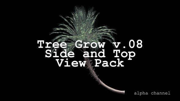 Thumbnail for Tree Grow v. 08 Side and Top View Pack