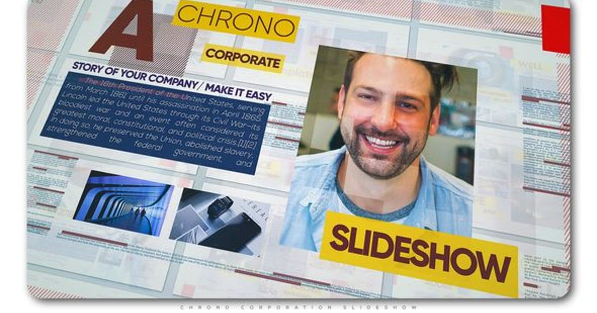 Download Chrono Corporation Slideshow by TranSMaxX