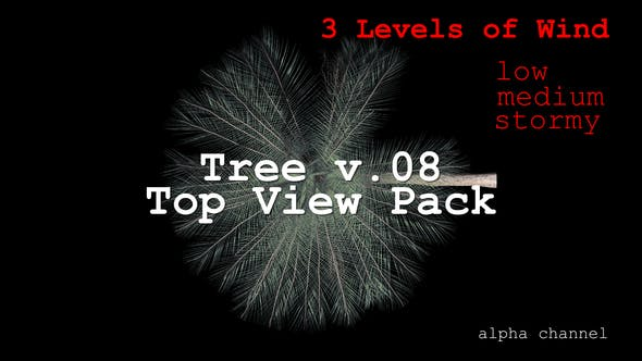 Thumbnail for Tree v. 08 Top View Pack