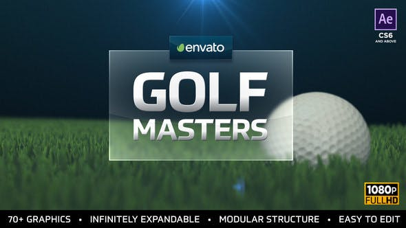 Golf Masters Graphics Package