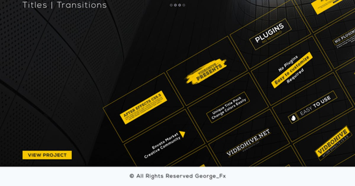 Download Titles & Transitions by George_Fx