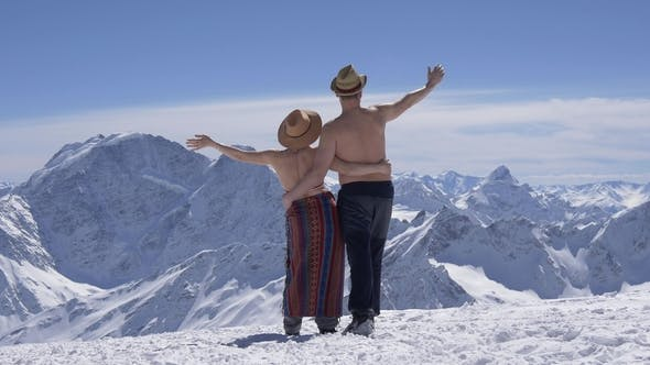 Thumbnail for Married Couple on Vacation in the Mountains
