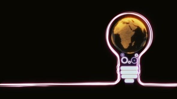 Thumbnail for Streaks Bulb with Globe Explosion