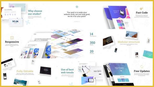 Thumbnail for Minimal Website Presentation