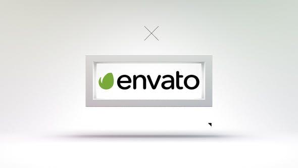3D Frame - Modern Logo Reveal